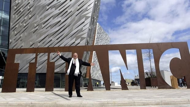 Architect Eric R Kuhne designed Belfast's new tourist attraction, the $160 million US Titanic Belfast visitor center.
