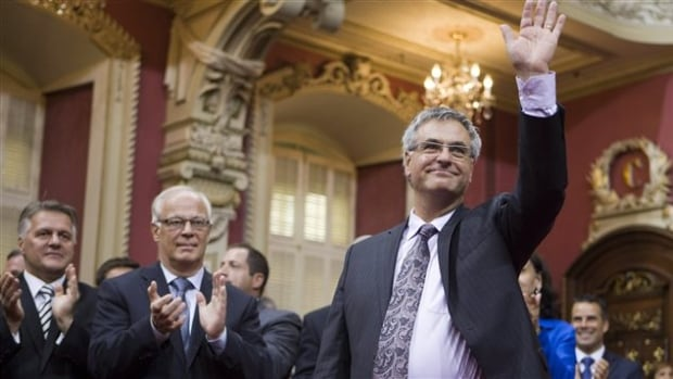 'We will collaborate,' Quebec's interim opposition leader, Jean-Marc Fournier, said after his Liberal caucus took their oath of office on Tuesday.