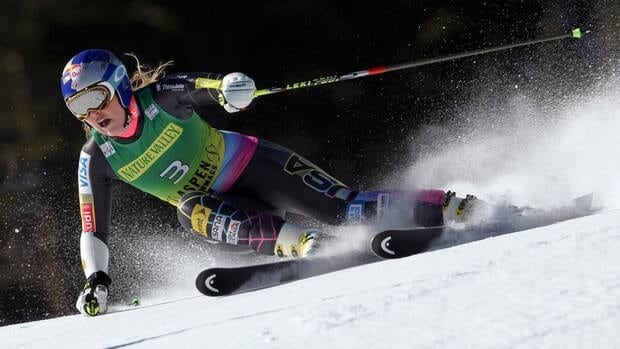 American Lindsey Vonn has finished on the podium at Lake Louise 17 times since her first win in 2004.