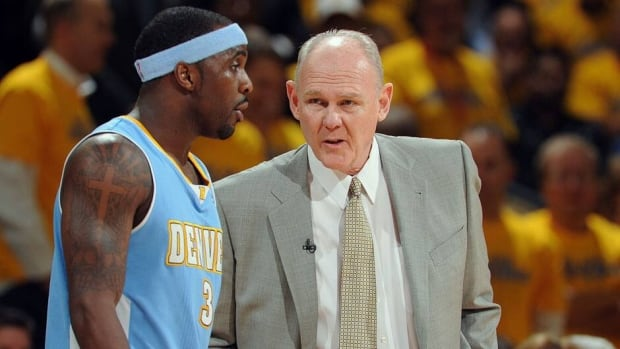 George Karl, right, guided Ty Lawson and the Nuggets to a 57-25 regular-season record, but they were bounced in the first playoff round by Golden State.