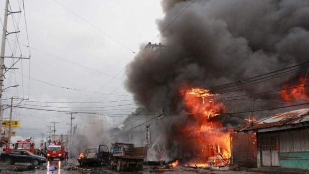 Bomb Blast In Philippines Kills 6 Cbc News