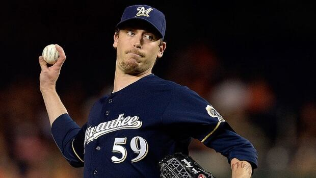 Former Brewers closer John Axford, who hails from Port Dover, Ont., hss been inconsistent since his breakout 2011 season, posting a 4.57 earned-run average over 137 innings pitched. He was traded to St. Louis on Friday.