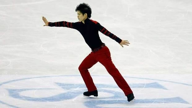 Takahiko Kozuka of Japan, shown in this file photo, skated his way to the Skate America men's title on Saturday in Kent, Wash.