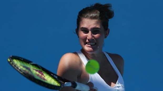 Rebecca Marino, seen at the Australian Open in January, reached a high of No. 38 in the women's rankings in 2011.