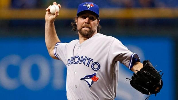Toronto Blue Jays pitcher R.A. Dickey will now start on Monday at home against the Tampa Bay Rays on Monday after his scheduled start on Sunday at Yankee Stadium was postponed by rain.