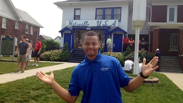 Glen, one of the Hitsville tour guides, is only 22. But he knows every Motown story, finger snap and song.