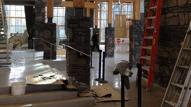 The new Elevation Place rec centre in Canmore is slated to open its doors soon.