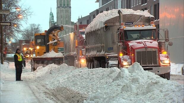 The city says it's on track to have snow cleared from all of its streets before Jan. 7.