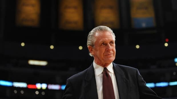 Miami Heat president Pat Riley won the Chuck Daly Lifetime Achievement Award on Tuesday.