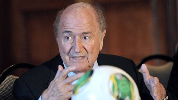 "FIFA president Sepp Blatter says a tournament like the European Championship ""should be played in one country."""