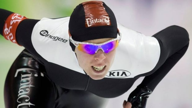 Canada's Christine Nesbitt raced to the top of the podium in Heerenveen, northern Netherlands on Saturday.