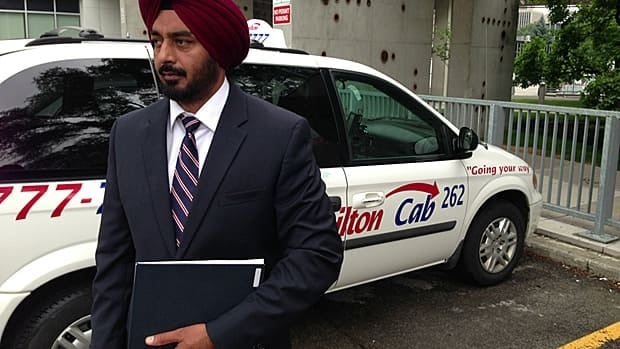 Jagtar Singh Chahal, chair and CEO of Hamilton Cab, says city cab drivers need higher start rates to help pay for exorbitant insurance costs. The city is looking into it.