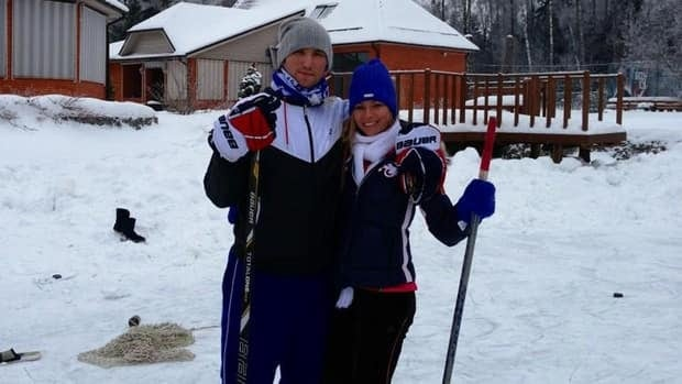 Alex Ovechkin and Maria Kirilenko announced their engagement on Monday.