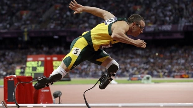 Oscar Pistorius was the first double leg amputee to participate in the Olympics when was part of South Africa's 4 × 400 metres relay team at the 2012 Summer Olympics in London. His agent says the athlete has fans around the world supporting him as he faces a murder charge.