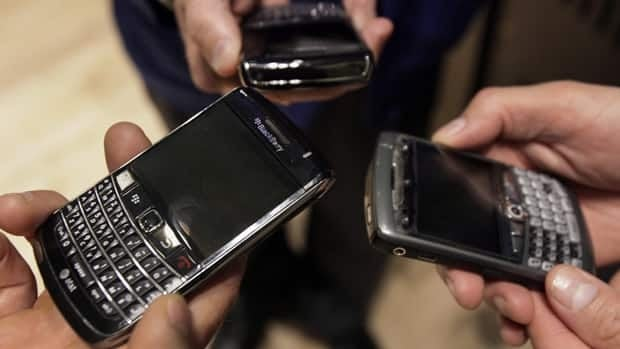 BlackBerry maker Research in Motion reported service outages in Europe, Middle East, and Africa on Friday.