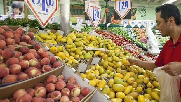 Growth in consumer spending slowed to 0.9 per cent in March, Statistics Canada said Friday.