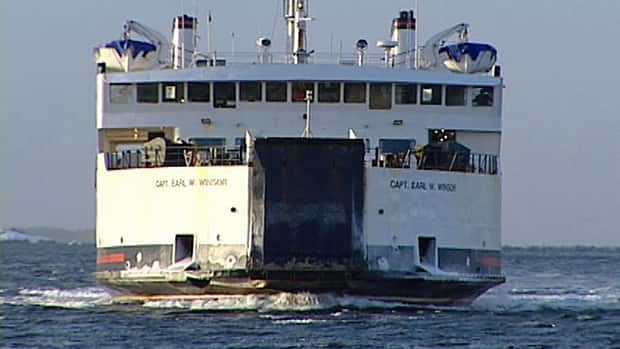 The Captain Earl W. Winsor, which normally handles the Fogo Island ferry run, is 40 years old.
