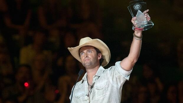 Dean Brody won an award for best album at the 2012 Canadian Country Music Awards in Saskatoon.