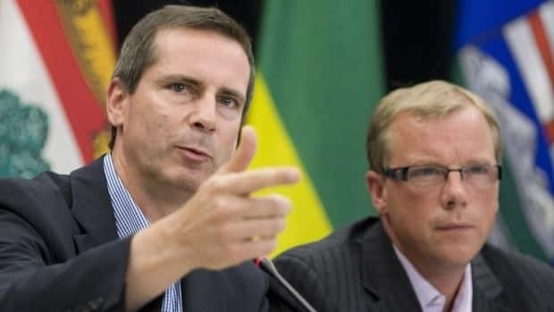 Ontario Premier Dalton McGuinty got into political hot water with Canada's western premiers last February over comments he made about the oilsands. At the time, Saskatchewan Premier Brad Wall said McGuinty's comments were divisive and did not help the relationship between east and west.