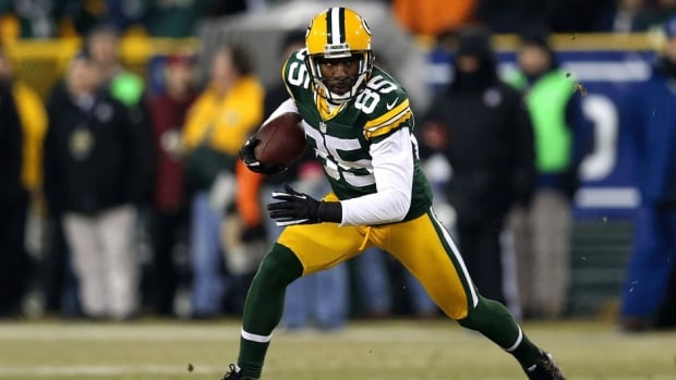 Wide receiver Greg Jennings caught 36 passes for 366 yards and four touchdowns in eight games last season for Green Bay.
