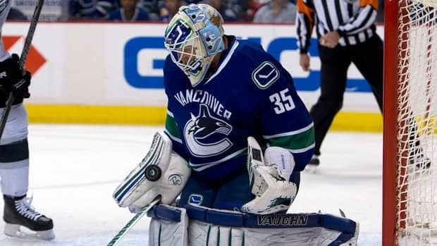 Vancouver Canucks goalie Cory Schneider will get the start on Wednesday against the Calgary Flames.