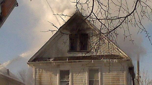 Everyone was able to escape safely from a house fire in Winnipeg on Monday.