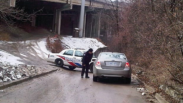 Police are investigating after human remains were discovered near Yonge Street and Highway 401.