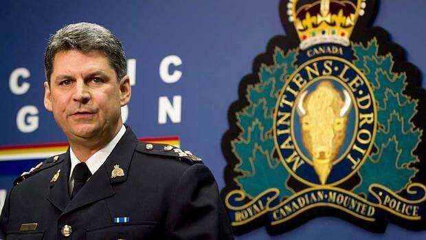 RCMP deputy commissioner Craig Callens.