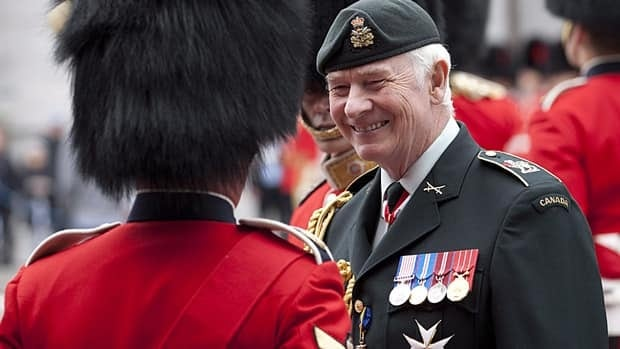 Gov. Gen. David Johnston inspects the Ceremonial Guard at Rideau Hall in Ottawa in June. Prime Minister Stephen Harper has created a panel to advise him on future governor general and lieutenant governor appointments.