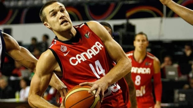 Canada's Levon Kendall, shown here competing against Panama in 2011, scored 16 points for his country on Thursday against Jamaica.