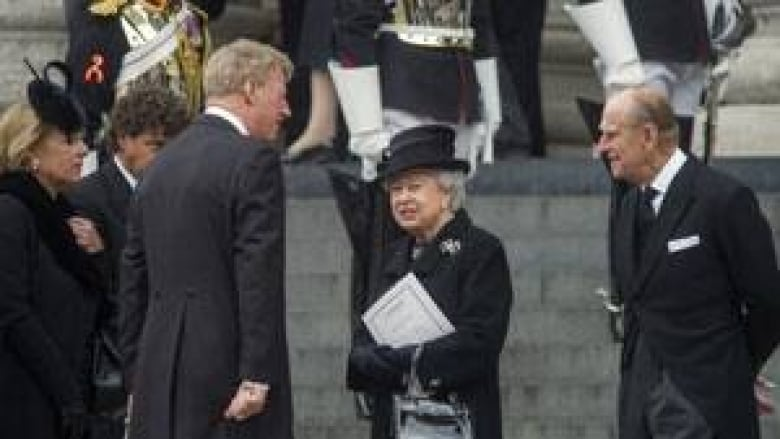 Margaret Thatcher Funeral Bids Farewell To Iron Lady Cbc News