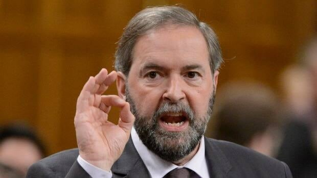 NDP Leader Tom Mulcair is calling on Prime Minister Stephen Harper to produce the $90,000 cheque his former chief of staff Nigel Wright gave to Senator Mike Duffy, in an interview on CBC Radio's The House.