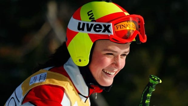 Canadian national ski cross team member Marielle Thompson, shown in this file photo, took home silver from the ski cross world championships in Norway on Sunday.
