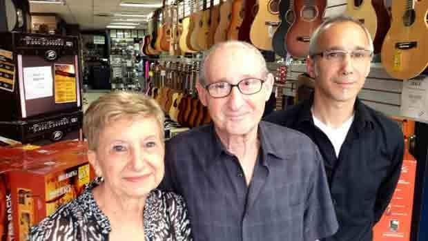 Elena, Rolando and Mark Pongetti have come to the hard decision that it's time to close the family music store.