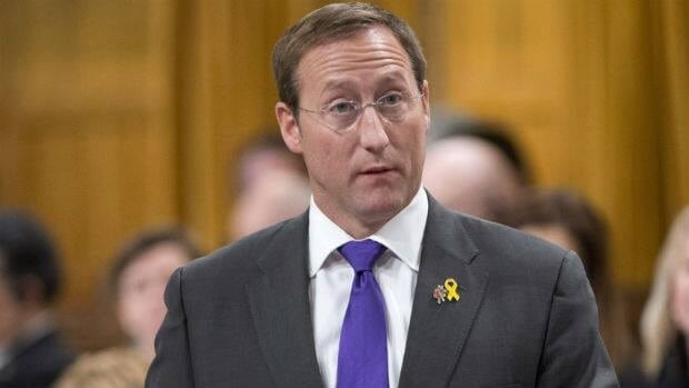 Defence Minister Peter MacKay responds to a question posed by NDP critic Jack Harris at the House of Commons on Monday.