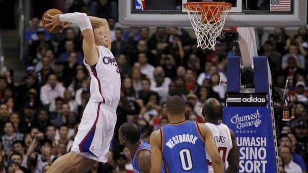Los Angeles Clippers power forward Blake Griffin won the slam dunk compeition at last year's NBA All-Star weekend. He declined to participate again this year.