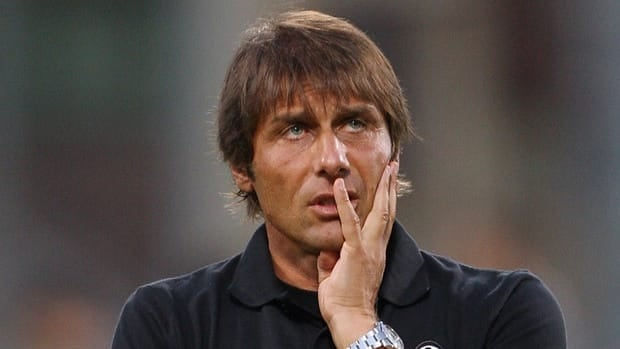 Antonio Conte was punished for failing to report match-fixing in two games during the 2010-11 season when he was coach of then-Serie B side Siena.