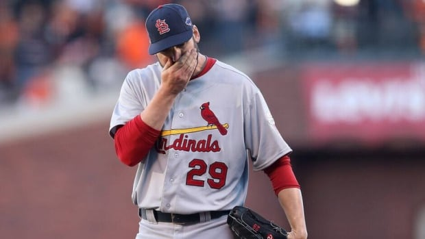 St. Louis Cardinals pitcher Chris Carpenter has been sidelined since February with nerve issues on the right side of his body.