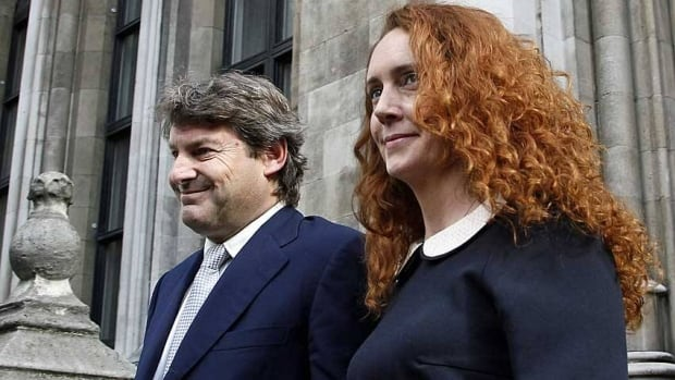Former News International chief executive Rebekah Brooks and her husband Charlie will face charges of conspiracy to pervert the course of justice, U.K. prosecutors say.