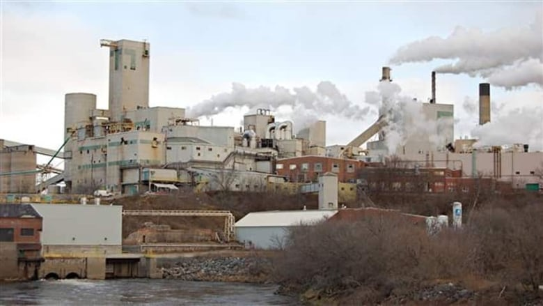 $50K fine for Domtar's Espanola pulp and paper company   CBC