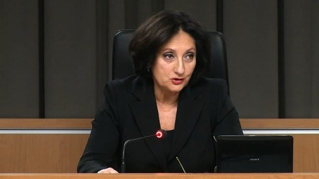 Justice France Charbonneau said the commission has done everything it can to protect ongoing police investigations.