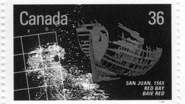San Juan commemorative stamp.