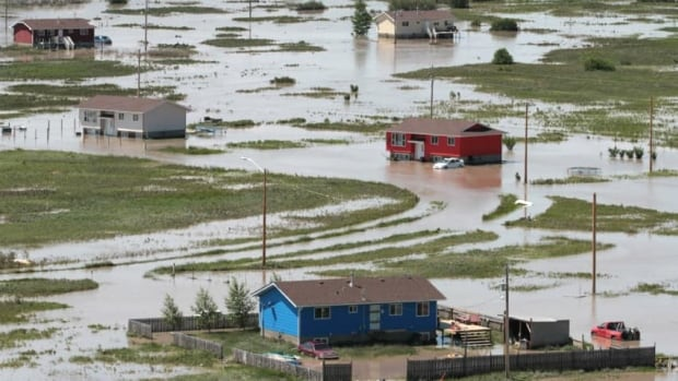 Siksika First Nation was hit hard by flooding last summer in southern Alberta. The federal auditor general says many First Nations lack adequate emergency planning resources.
