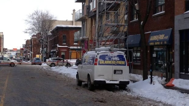 Const. Daniel Lacoursière said a man was shot at 8:30 a.m. today while he was inside a business on Van Horne Avenue near Bloomfield Avenue.