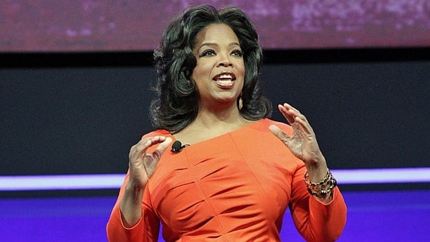 TV mogul Oprah Winfrey is set to speak in Hamilton on Saturday.