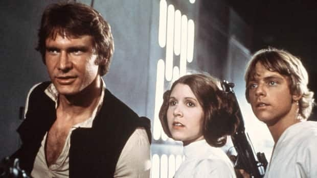 The Stars Wars film series launched in the 1970s and featuring stars such as, from left, Harrison Ford, Carrie Fisher and Mark Hamill, also inspired a religious following of Jedi Knights. Statistics Canada says the number of people claiming to follow the Jedi religion has dropped since 2001.