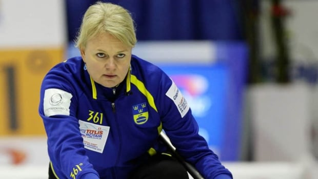 Sweden's Anette Norberg won Olympic gold medals in 2006 and 2010.
