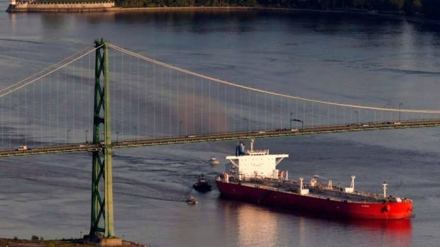 Tanker traffic is expected to increase in B.C. waters as the provincial government increases oil and gas exports to China, elevating the risk of spills.
