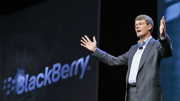 BlackBerry CEO Thorsten Heins showed off the first two BB10 models on Wednesday, the touchscreen Z10 and the keyboard version, the Q10.