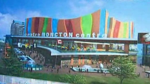 Moncton is planning to build a $100-million, 7,500-seat downtown sports and entertainment centre.